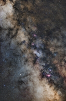 Milky Way in Saggitarius and Aquila