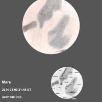 Mars 2014-04-09 2145UT