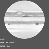 Jupiter 10. rujna 2011.